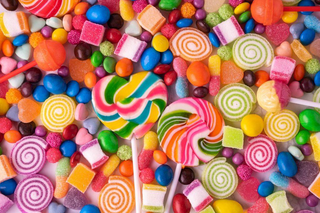 Barwniki w słodyczach